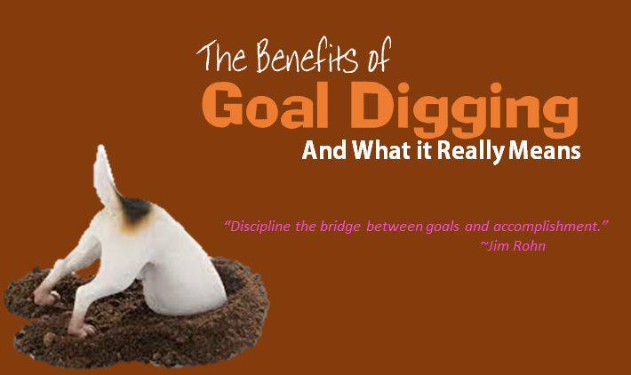 The Benefits of Goal Digging and What it Really Means